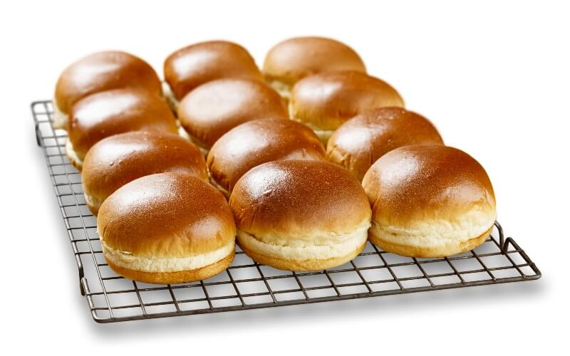 Fluffly brioche buns