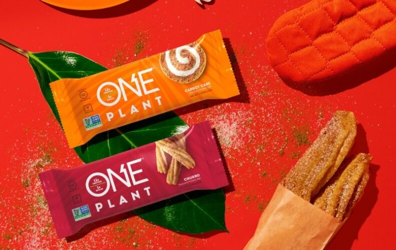 ONE Brands new Churro and Carrot cake plant-based protein bars