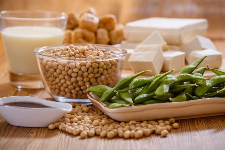 Soy products, milk, beans, and tofu