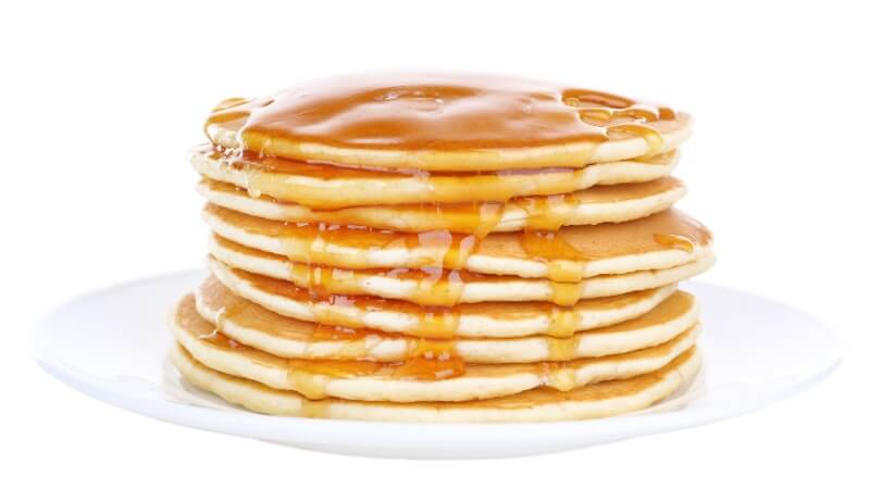 Pancakes may contain animal products
