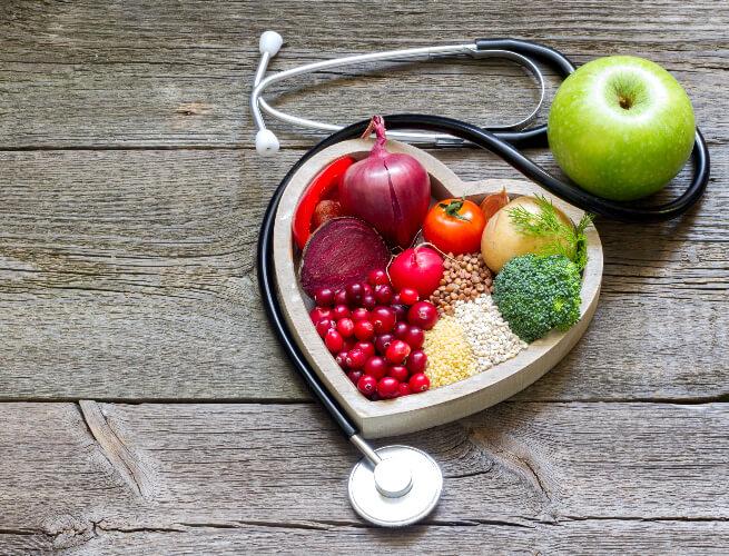 The vegan diet is heart healthy