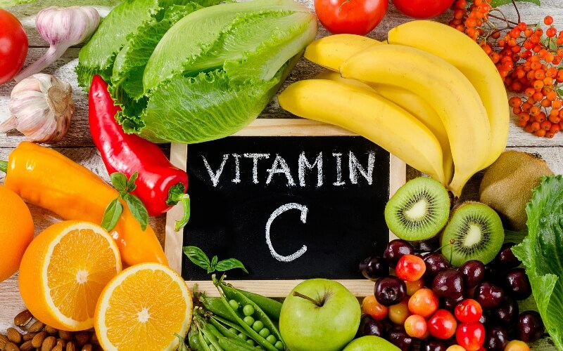 Vitamin C is found in many vegan foods