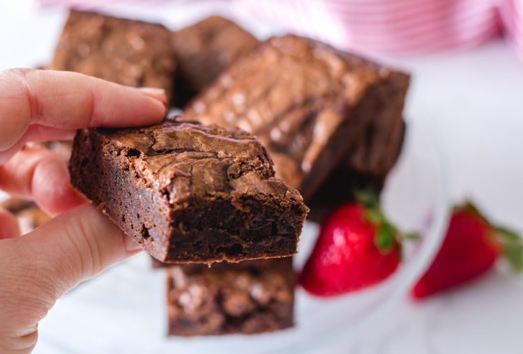 Chewy Incredible Vegan Brownies